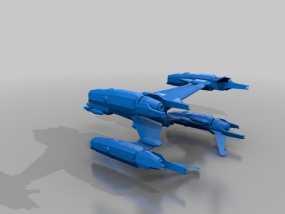 Starfury战斗机 3D模型