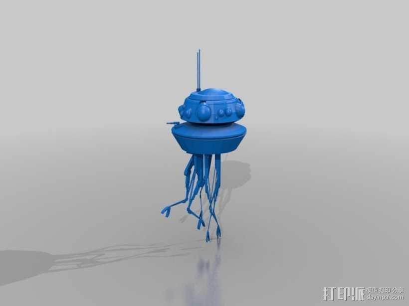探测机器人 3D模型  图1