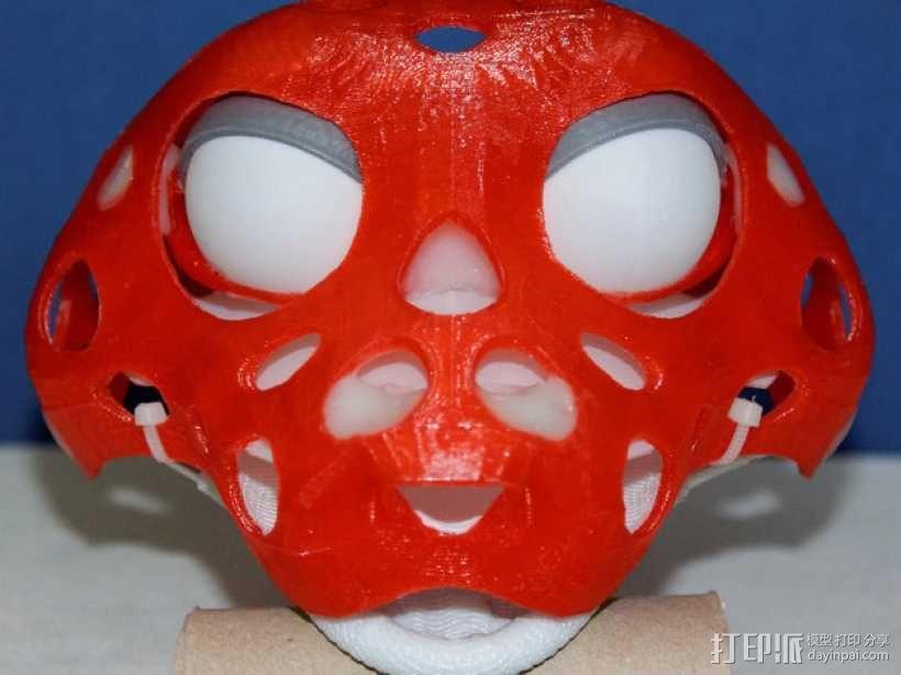 玩偶头部支撑架 3D模型  图1