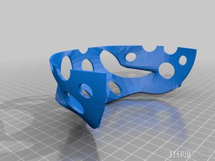 玩偶头部支撑架 3D模型  图3