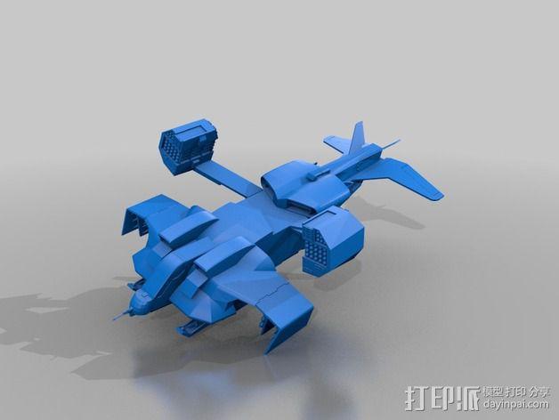 运输机模型 3D模型  图1