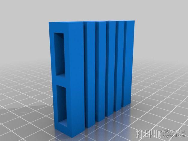 框条式托盘 货架 3D模型  图3
