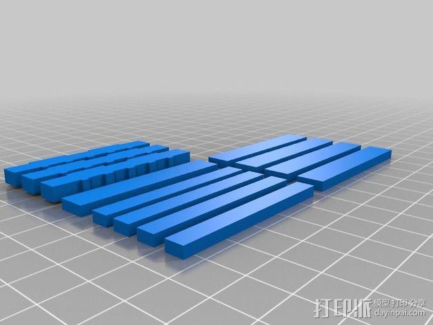 框条式托盘 货架 3D模型  图2