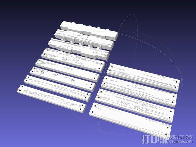 框条式托盘 货架 3D模型  图6