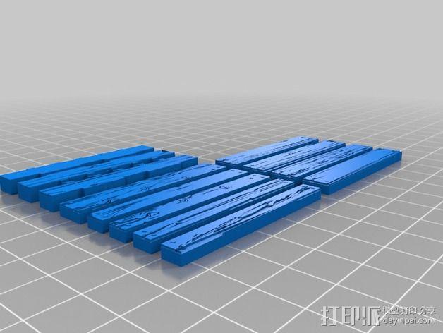 框条式托盘 货架 3D模型  图5