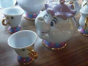茶壶太太和杯子 3D模型