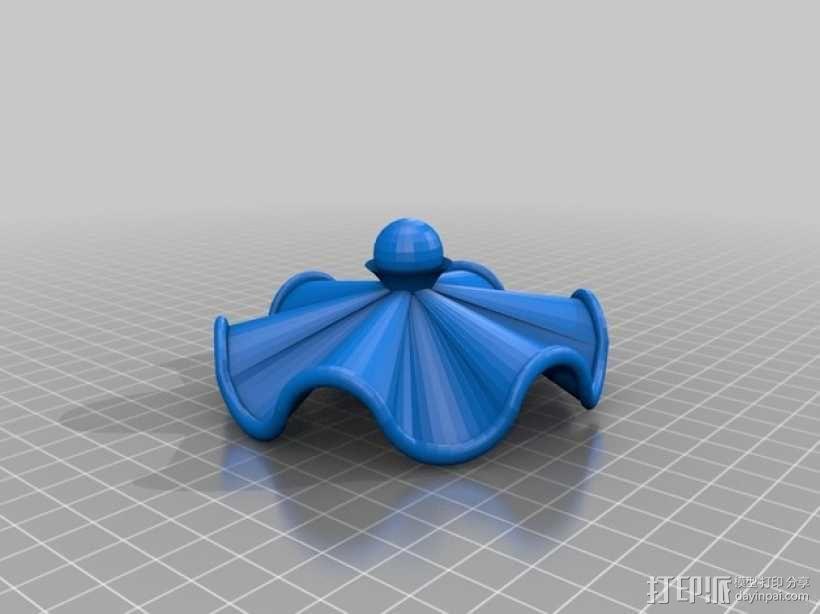 茶壶太太和杯子 3D模型  图3