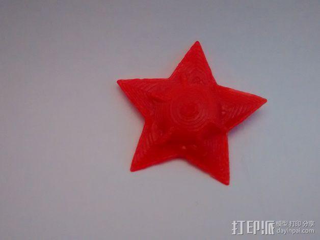 宝石海星 3D模型  图1