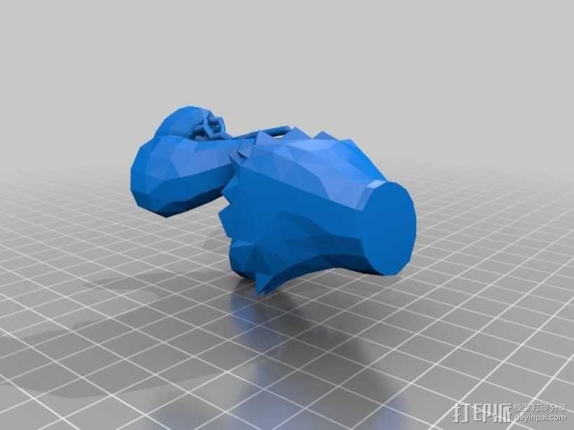 黑暗之女 安妮 3D模型  图2
