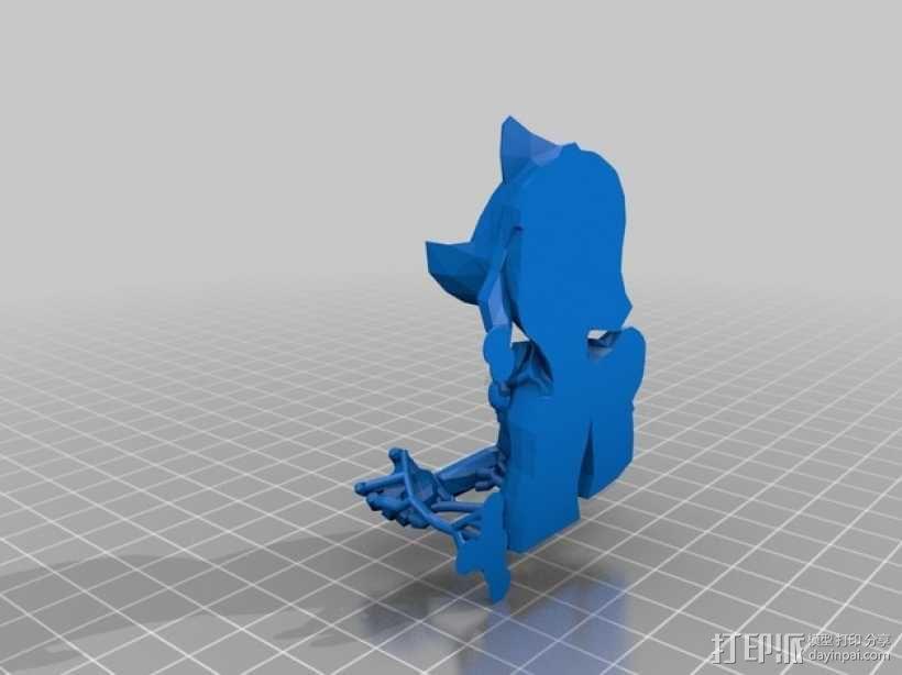黑暗之女 安妮 3D模型  图5