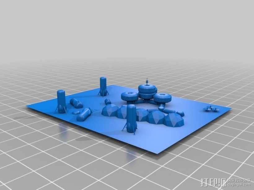 模块化月球基地 3D模型  图10