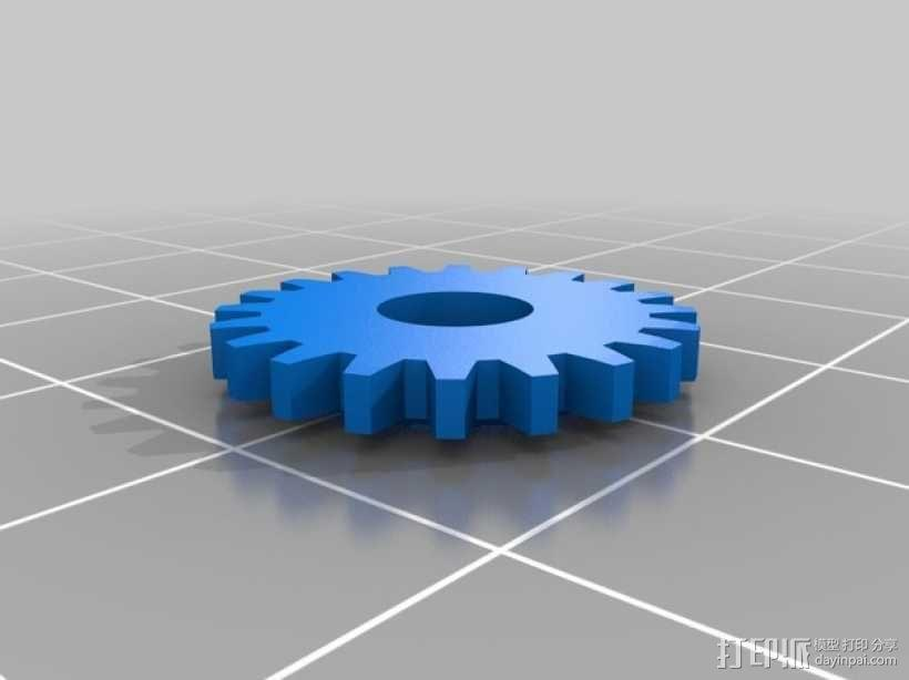 3D-lab徽章标志 3D模型  图3