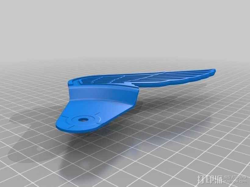 3D-lab徽章标志 3D模型  图7