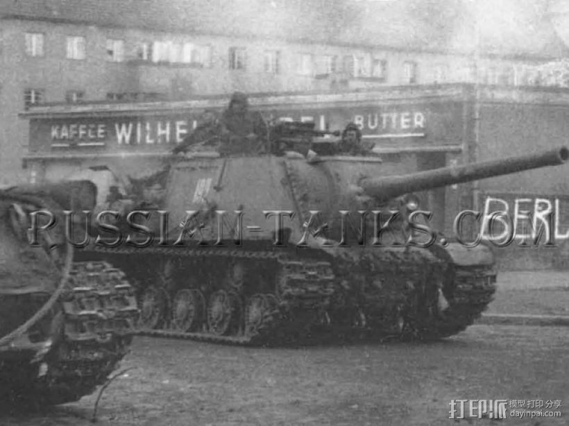SU-152自行火炮坦克 3D模型  图1