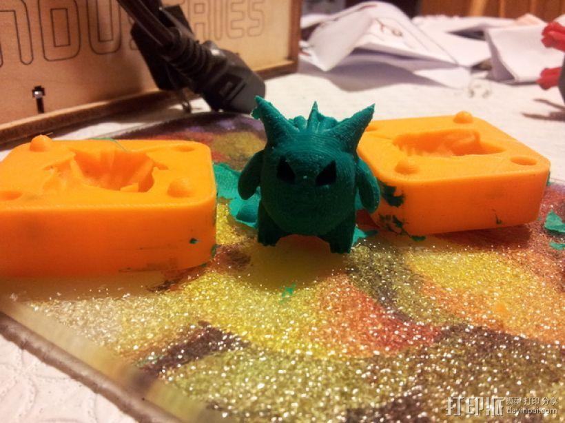 Gengar耿鬼模具 3D模型  图1