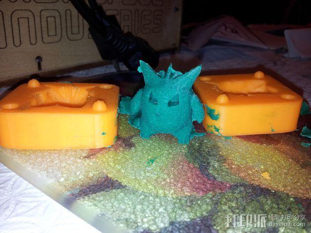 Gengar耿鬼模具 3D模型  图4
