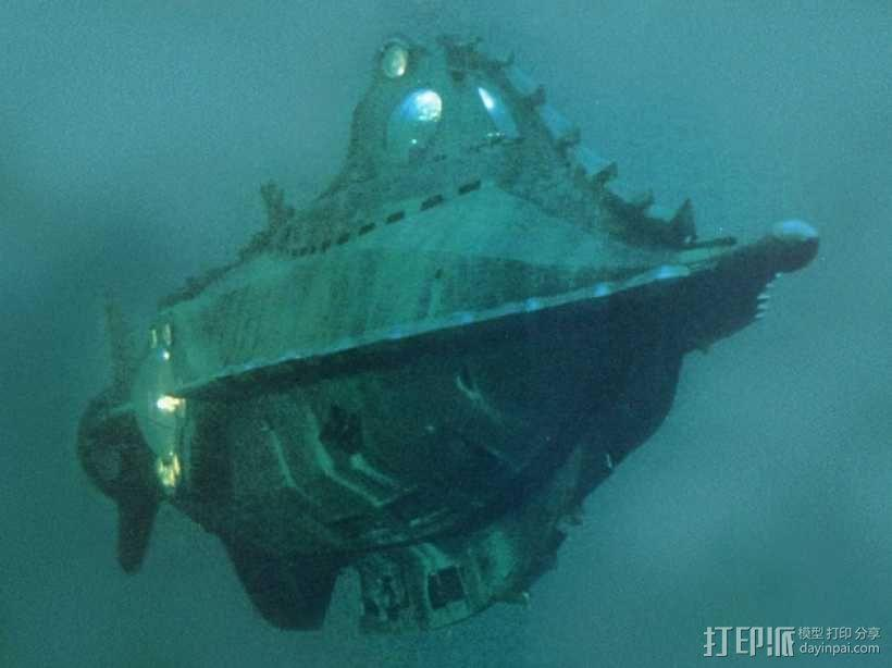 鹦鹉螺号潜艇模型 3D模型  图9