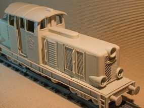 Diesel 01火车头模型 3D模型