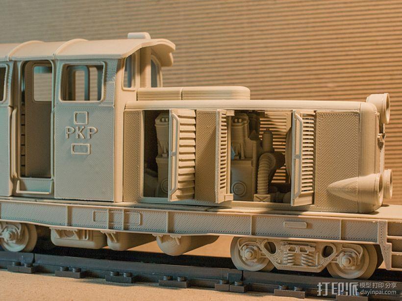 Diesel 01火车头模型 3D模型  图3