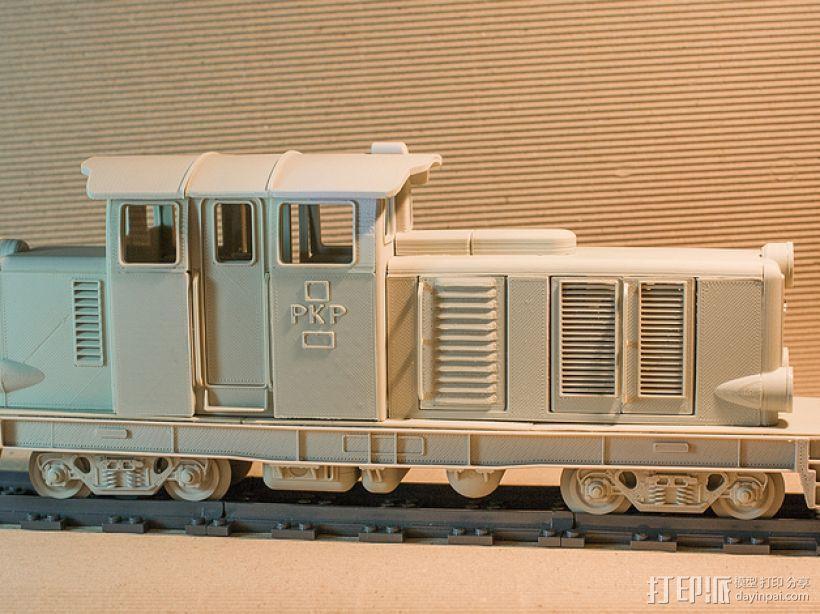 Diesel 01火车头模型 3D模型  图4