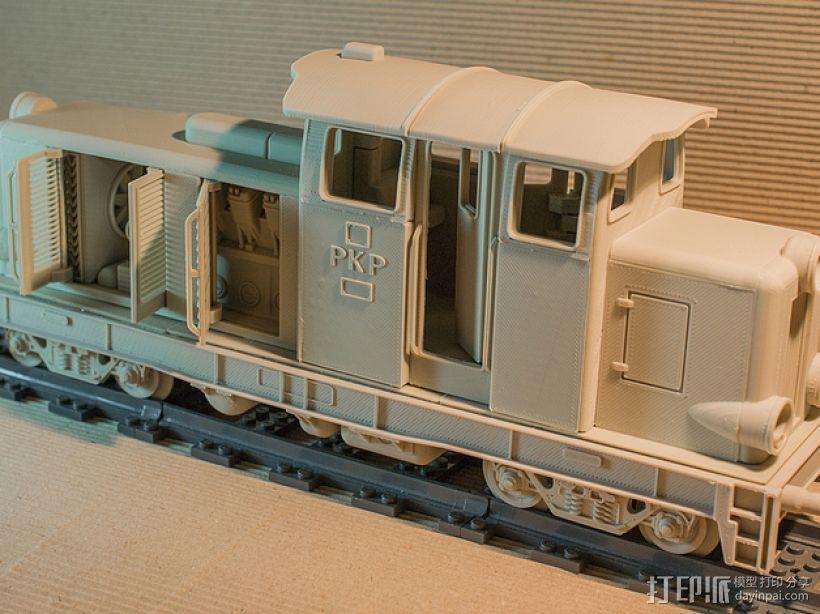Diesel 01火车头模型 3D模型  图5
