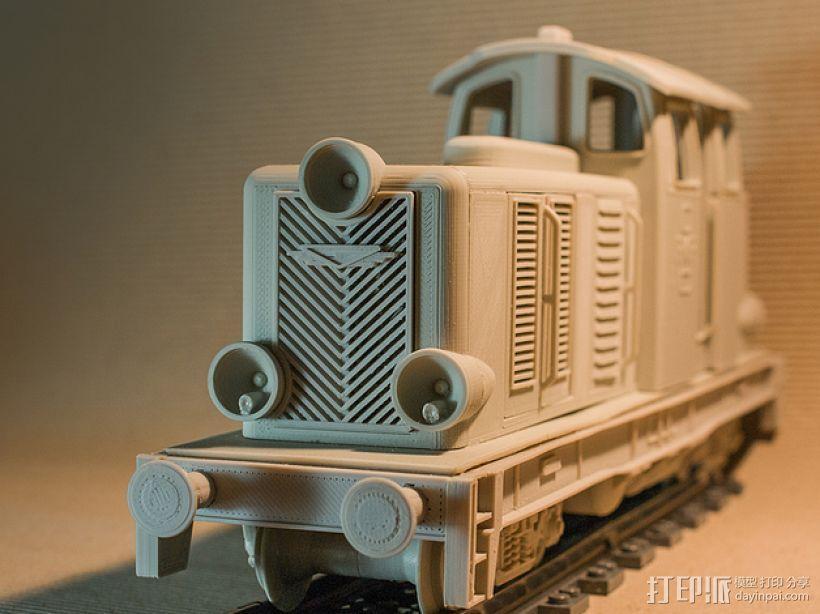 Diesel 01火车头模型 3D模型  图6