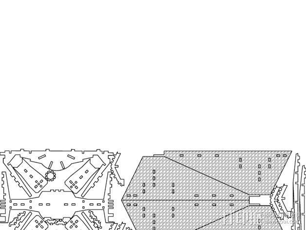 钛战机  3D模型  图2