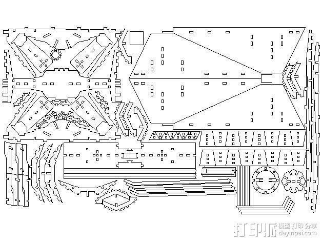 钛战机  3D模型  图3