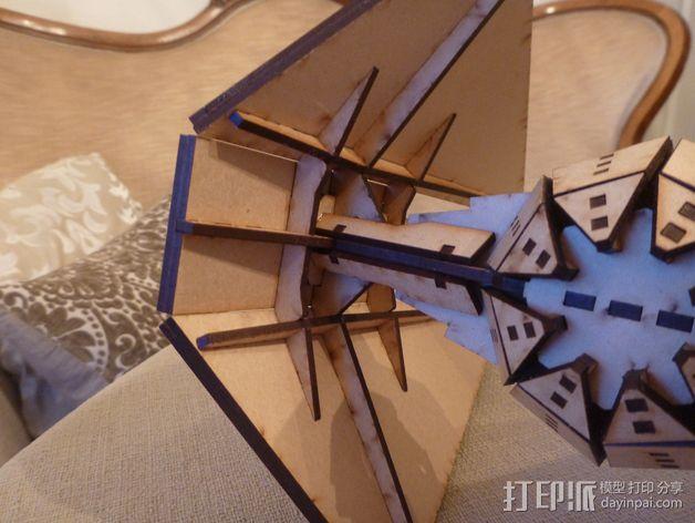 钛战机  3D模型  图4