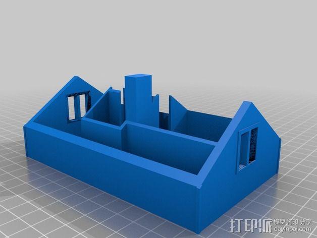 农家小院 3D模型  图2