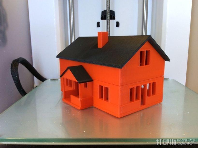 农家小院 3D模型  图1