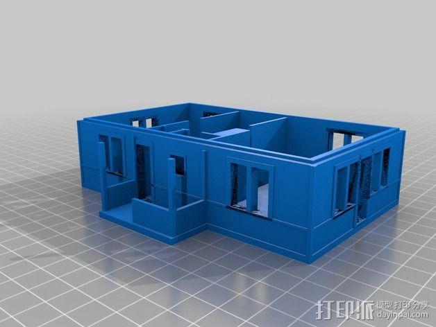 农家小院 3D模型  图3