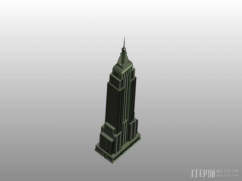 帝国大厦 3D模型  图3