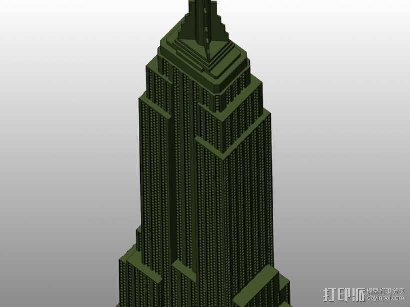 帝国大厦 3D模型  图5