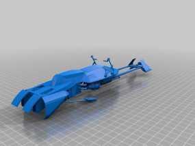 摩托艇 3D模型