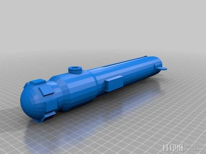 Ahsoka的光剑 3D模型  图2