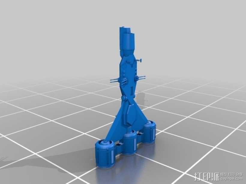 星球大战 护卫舰  3D模型  图3
