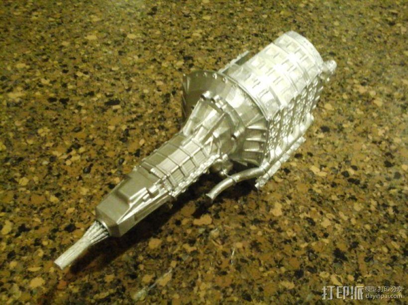 旋缸发动机 3D模型  图2