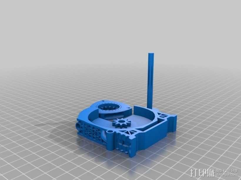旋缸发动机 3D模型  图5