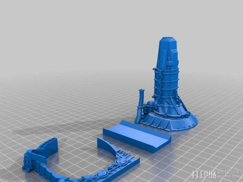 旋缸发动机 3D模型  图6