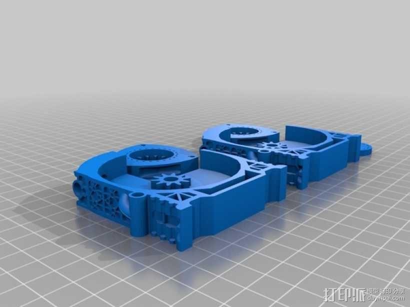旋缸发动机 3D模型  图8