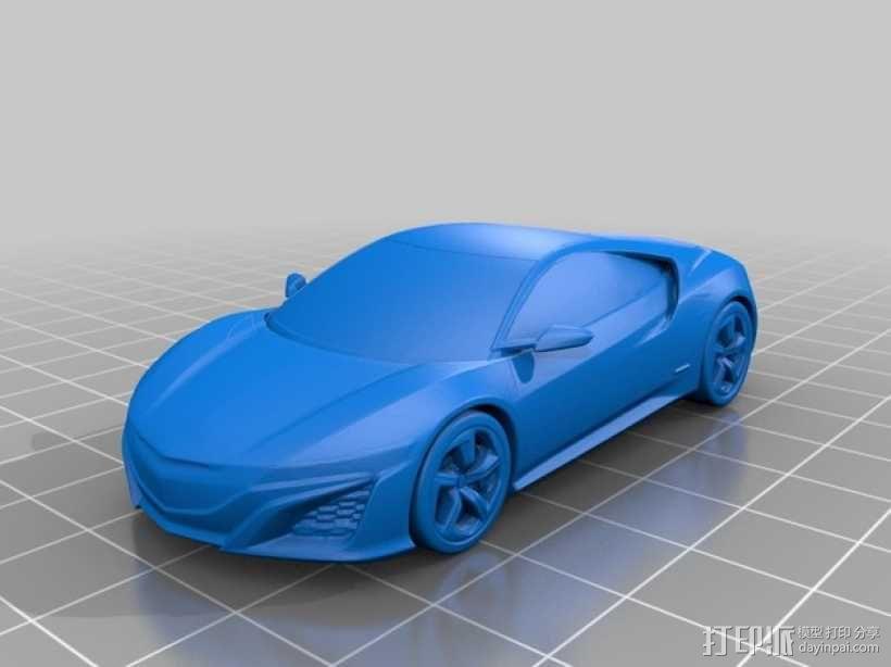 本田汽车 3D模型  图1