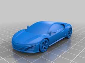 本田汽车 3D模型