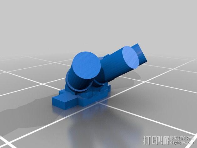 烟榴弹发射器 3D模型  图3