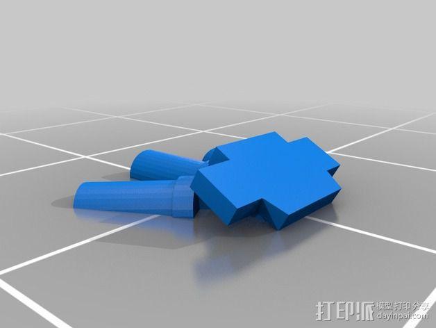 烟榴弹发射器 3D模型  图2