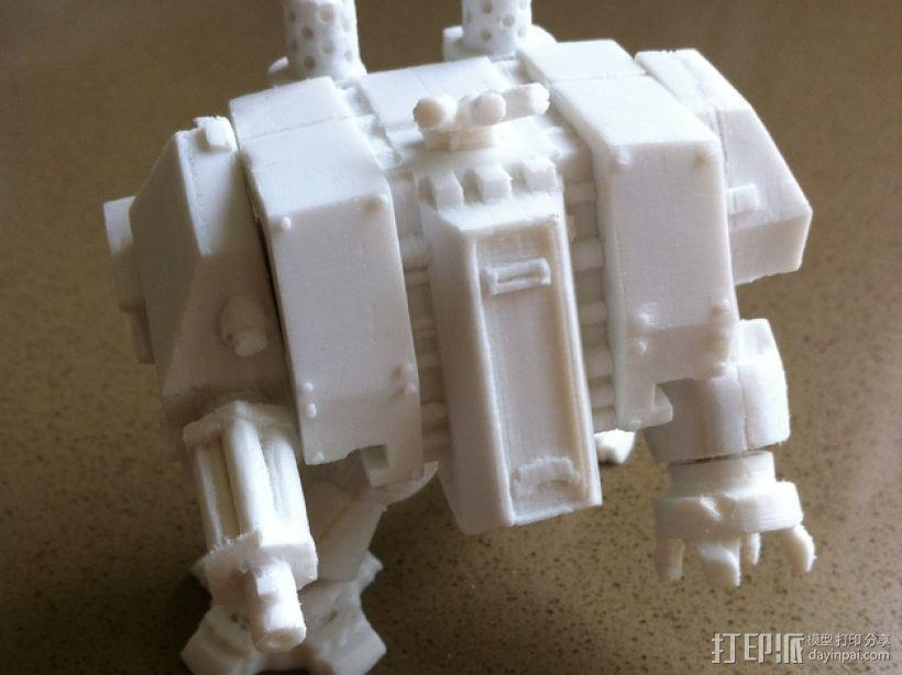 烟榴弹发射器 3D模型  图1