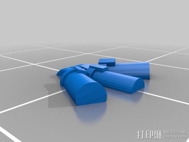 烟榴弹发射器 3D模型  图4