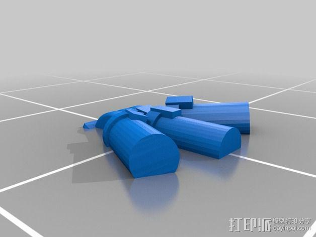 烟榴弹发射器 3D模型  图6