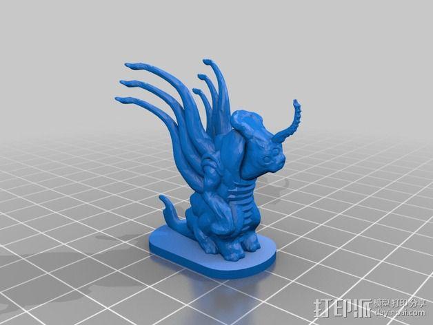 外星人Grezan 3D模型  图2