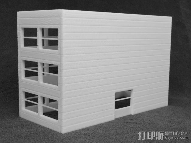 办公大楼 3D模型  图2